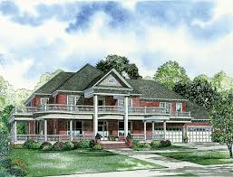 House Plans With Wrap Around Porches Peachy Southern Plantation House Plans With Wrap Around Porch 3