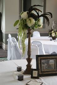Feather And Flower Centerpieces by 96 Best Theme Gatsby 1920s Theme Images On Pinterest Marriage