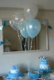 christening decorations christening balloons for a boy or girl 10 table 360