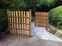 outdoor temporary bamboo fencing beautify your backyard deck with