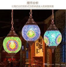 Wholesale Pendant Lighting Discount Wholesale Made In China Turkish Handicraft Mosaic Single