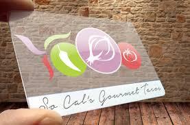 Plastic Business Card Printer Socal Graphix Plastic Business Card Printing Clear Frosted