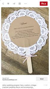 how to make wedding program fans perfect weddings pinterest wedding wedding programs and weddings