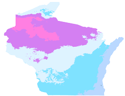 Growing Zone Map Sussex Wisconsin Hardiness Zones