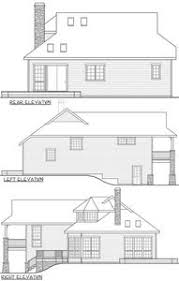 split level house plan sloping lot split level house plan 72788da architectural