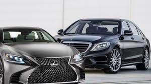 lexus better than mercedes 2018 lexus ls vs mercedes s class dailyvideo