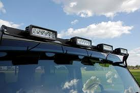 Jeep Wrangler Led Light Bar by 50 Inch Multi Light Adapter Bracket 70509 Rough Country