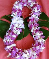 hawaiian leis hawaiian orchid leis with our aloha