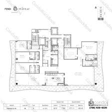 chateau floor plans fendi chateau residences unit 306 condo for sale in surfside