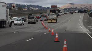 california highway patrol reopens all lanes after acetone leak