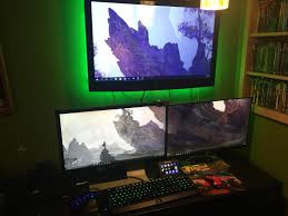 this is my gaming room bedroom setup hope you enjoy album on imgur