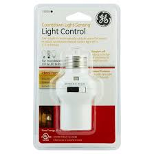 general electric switch light sensing timer target
