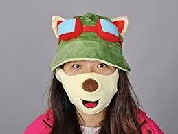 League Legends Halloween Costume Amazon League Legends Lol Teemo Hat Cosplay Toys U0026 Games