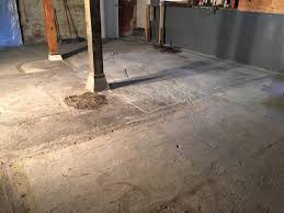 basement stained concrete another inexpensive basement flooring