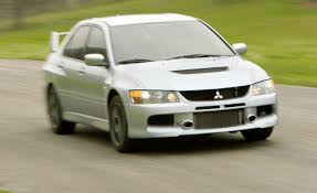 lancer mitsubishi 2007 2006 mitsubishi lancer evolution ix first drive review car and