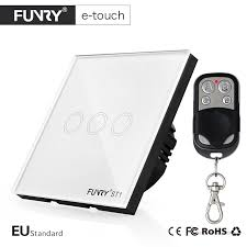 remote to turn off lights funry eu standard 3 gang smart remote switch turn on off lights via