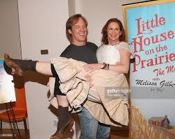 steve blanchard and melissa gilbert attend the little house on the picture id90318596