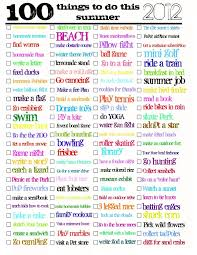 summer activities i u0027m a sucker for a good list of ideas for