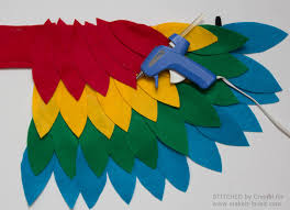 sew an easy parrot costume make it and love feathers idolza
