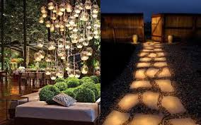 Unique Patio Lights Backyard Lighting Ideas Pictures