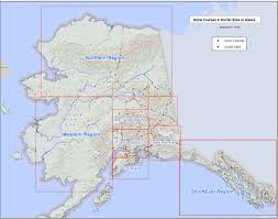 Southeast Alaska Map Snotel And Snow Course Sites In Alaska Nrcs Alaska