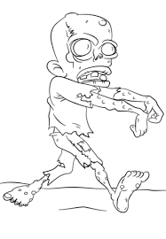 walking dead zombie coloring free printable coloring pages