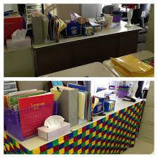 Teacher Desk Organization by Teachers Desk Re Do I Always Hated My Ugly Metal Desk Simple