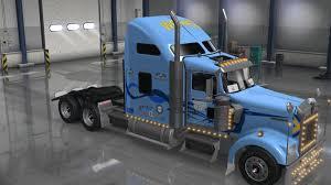 trucker to trucker kenworth uncle d logistics werner trucking kenworth w900 skin mod