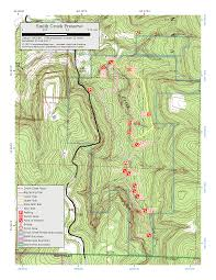 Alum Creek Campground Map Arkansas Ozarks Trails The Compulsive Hiker
