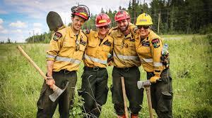 Canadian Wildland Fire Training by Alberta Wildland Firefighter Helitack Program Hac Youtube