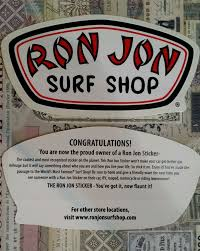 preppy jeep stickers ron jon surf shop sticker decal ronjon for sale ebay