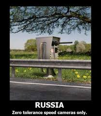 Russian Car Meme - russian speed camera car humor