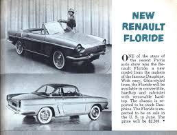 1959 renault dauphine new renault floride modern mechanix
