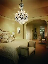 make a grand statement with chandeliers in the bedroom bellacor