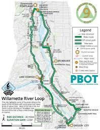 Portland Bike Maps by Best Bike Rides Around Portland Maplets