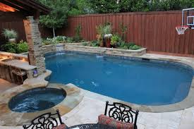 swimming pool sweet black lounge chair combined with small green