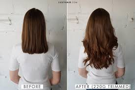 hair extensions in hair how to choose the right thickness of luxy hair extensions