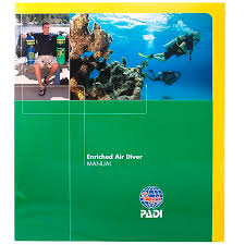 Padi Dive Tables by Padi Enriched Air Manual With Dive Tables