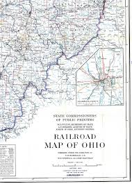 Columbus Ohio Maps by 1918 Railroad Map Of Ohio