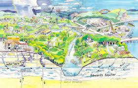 Austin Greenbelt Map by Edwards Aquifer Save Barton Creek Association