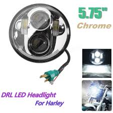 Led Car Light Bulb by 5 7inch Motorcycle Projector Drl Led Light Bulb Hi Lo Beam