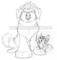 ralph vanellope dogs sketch by nyaasu on deviantart
