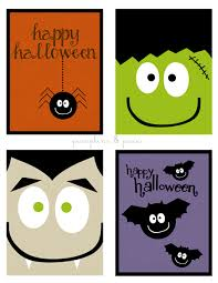 free printable halloween cards cards