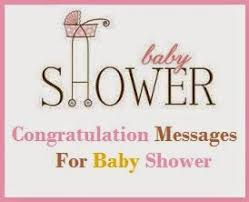 congratulation messages baby shower