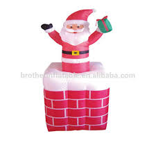 Outdoor Inflatable Christmas Decorations Clearance by Inflatable Father Christmas Santa Claus Ice Jam Big Lots Christmas