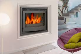 wood burning fireplace insert 2520bs dovre france