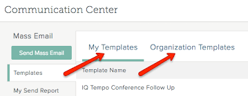 create and work with email templates salesforceiq help