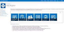 risk register u2013 microsoft appsource
