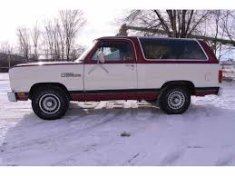 1987 dodge ramcharger for sale classiccars cc 934563