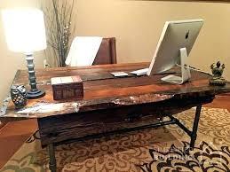 Rustic Office Desk Diy Office Desk Themoxie Co